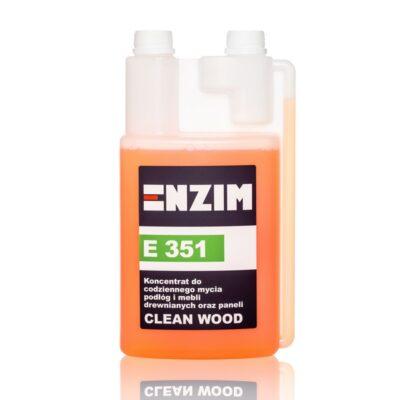 E 351 – koncentrat do codziennego mycia podłóg i mebli drewnianych oraz paneli CLEAN WOOD